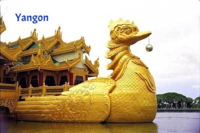 8 Days-Yangon-Bagan-Mt.Popa-Mandalay-Mingun-Inle Tour