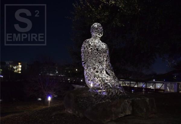 Praying Statue