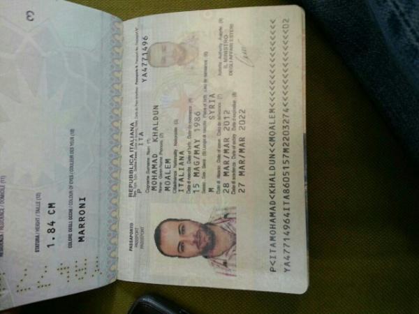 Italia passport
