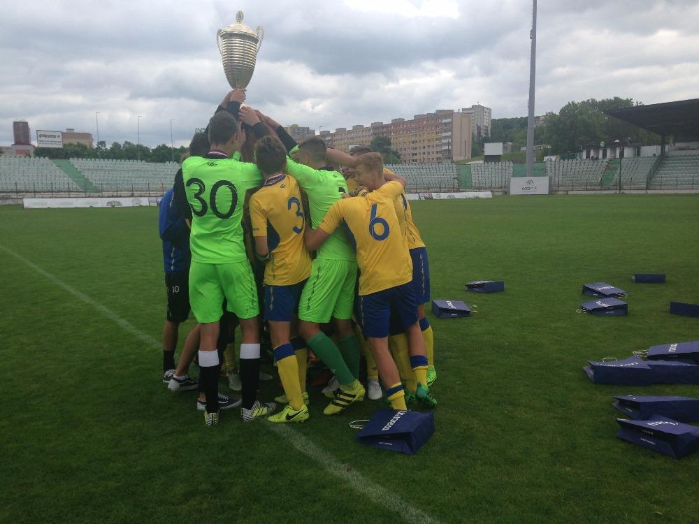 FK Teplice U15 vyhrál Pohár Hejtmana Ústeckého kraje