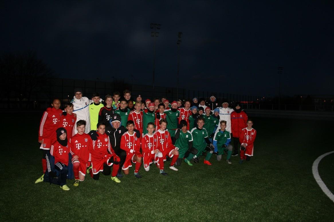 Ústecký výběr U14/U13 zvítězil na turnaji Bayernu Mnichov
