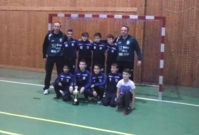 SK Baník Modlany vyhrál halovou ligu mladších žáků 2018