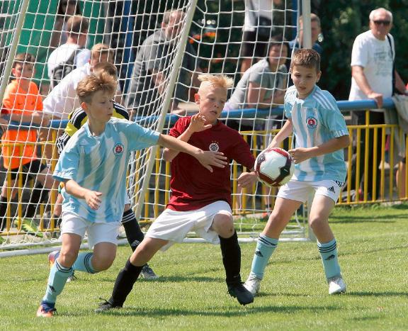Sparta Praha vyhrála turnaj Alexandria Cup - U11 v Tvrdonicích