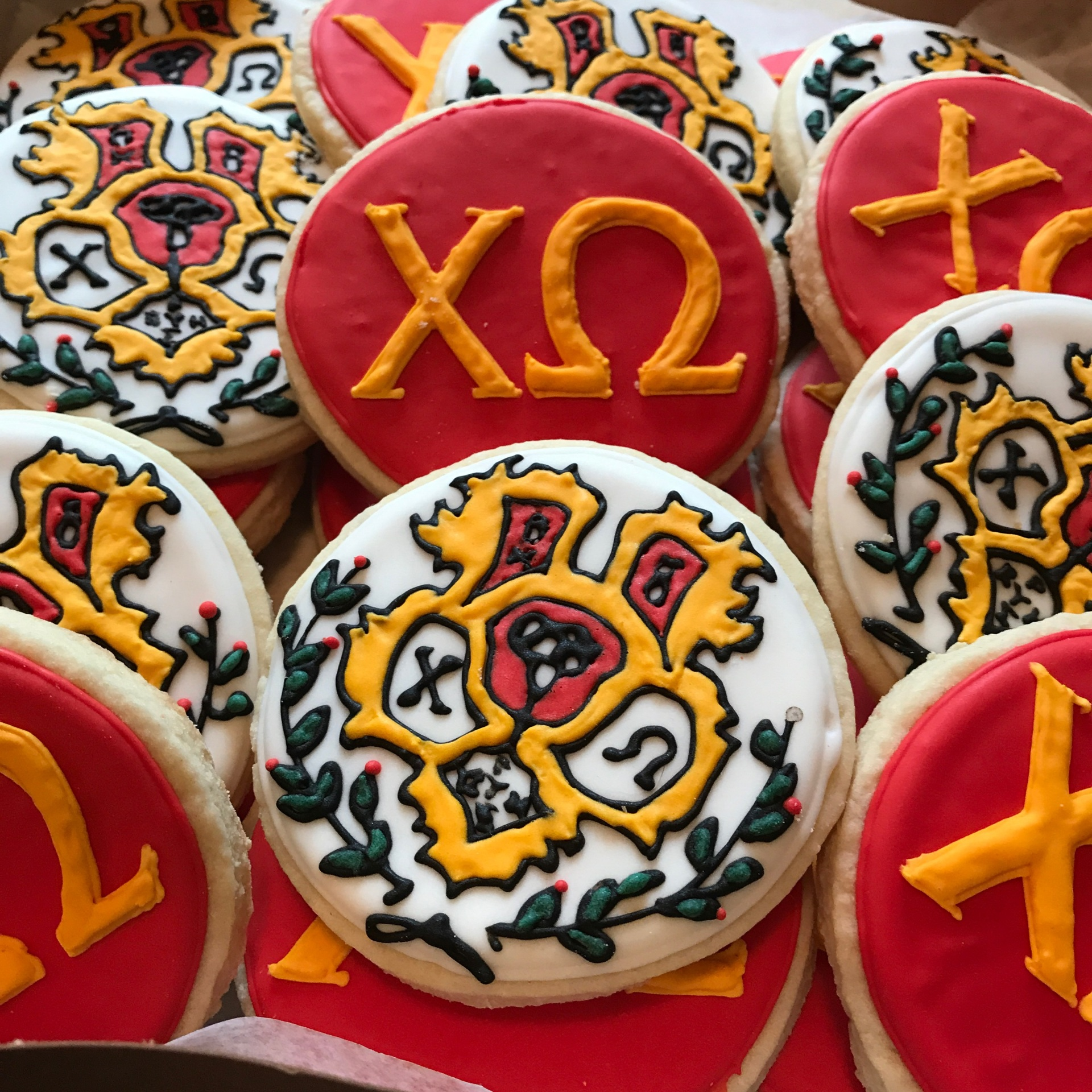 Sorority Crest and Letters