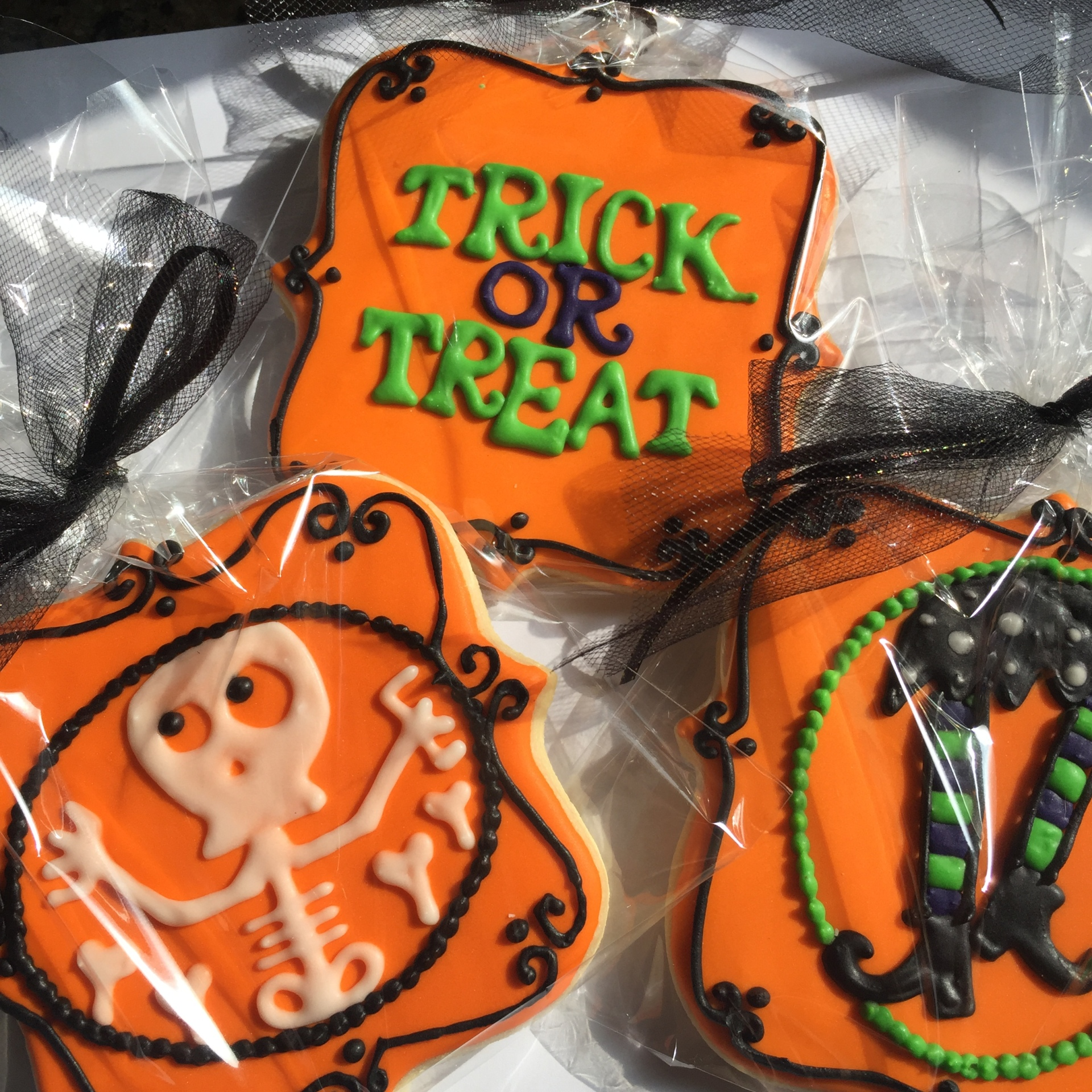 Halloween Themed Cookie Set