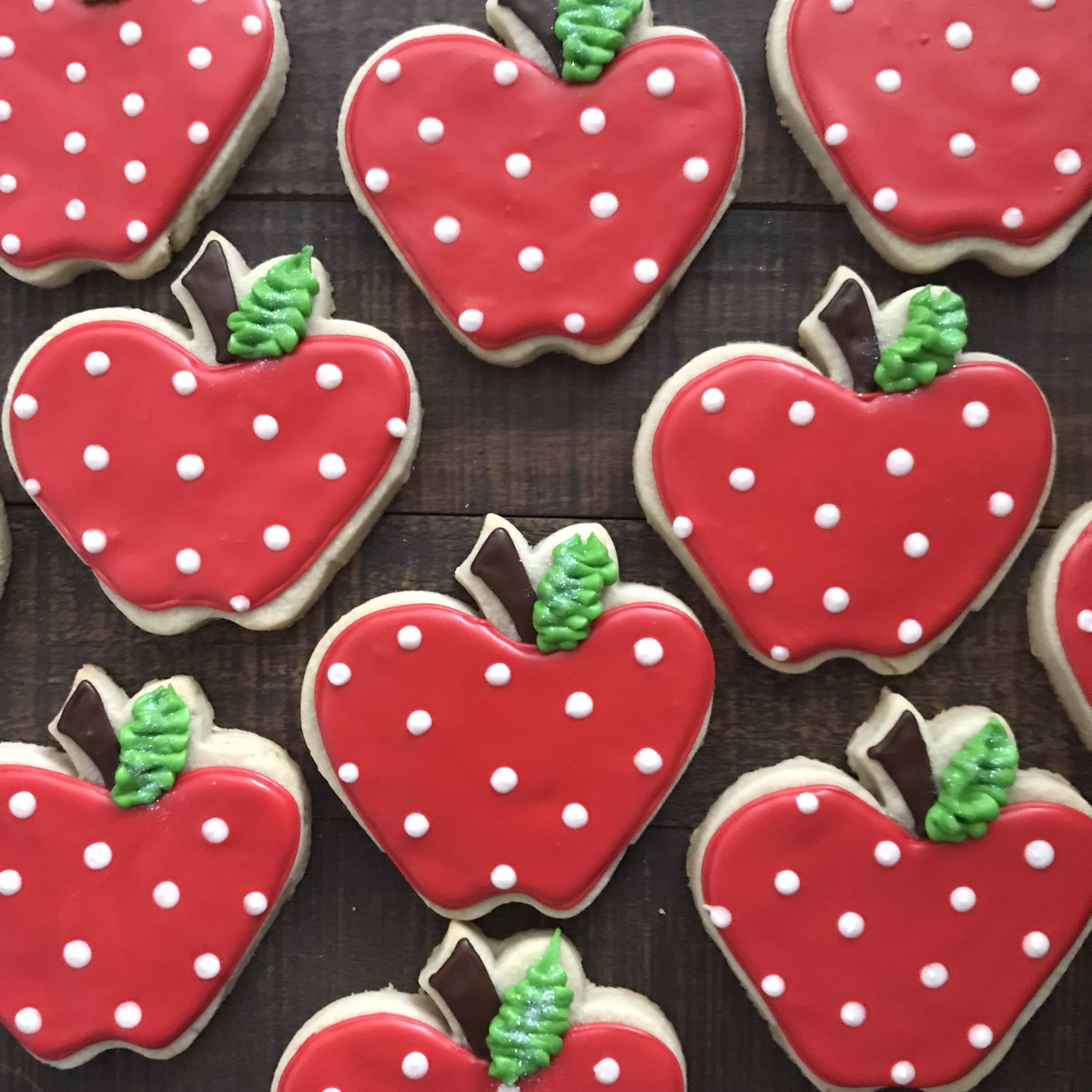 Polka Dot Apples