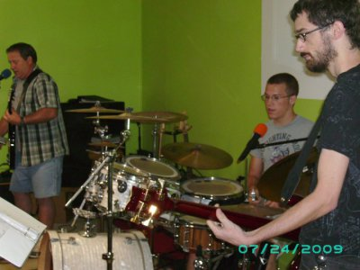 Band in youth Chapel