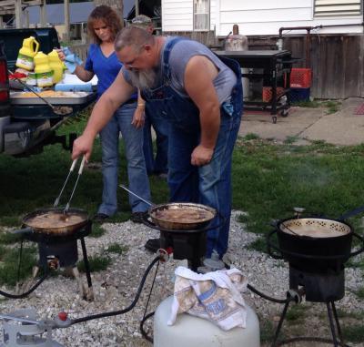 cooking frog legs