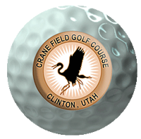 Crane Logo Ball Get a Tee Time