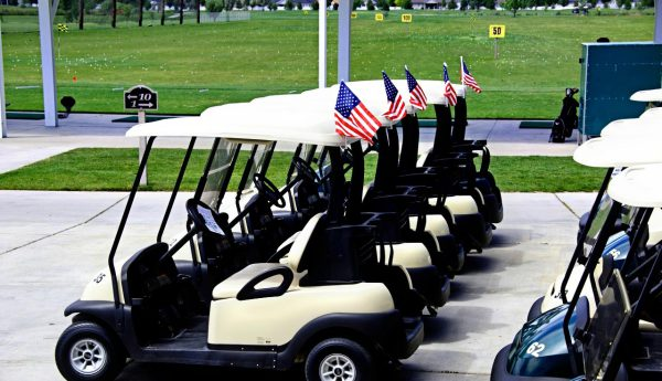 motorized golf cart rentals