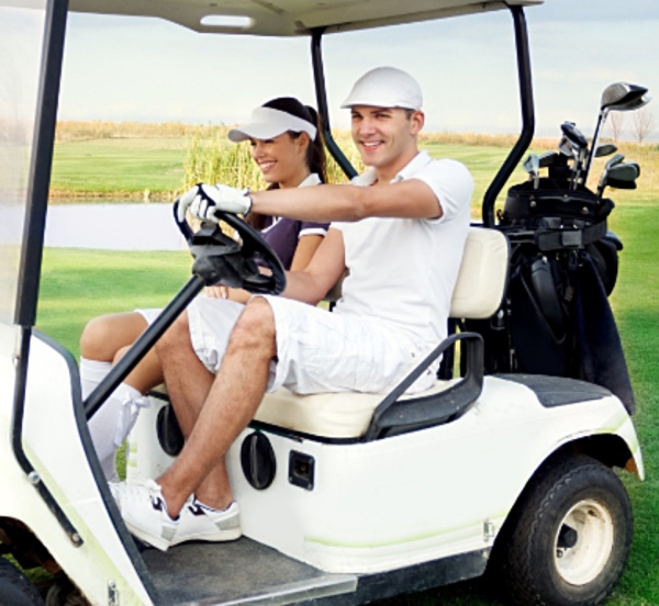 Couples league carts rentals