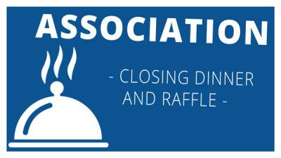 Association Closing Dinner and Raffle