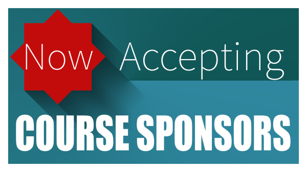 Now Accepting 2017 Course Sponsors