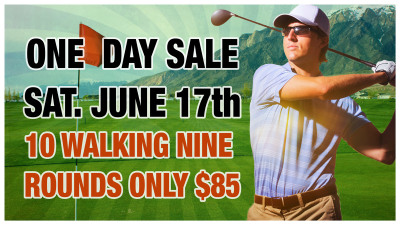 ONE DAY ONLY SALE - SAT. JUNE 17th