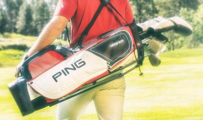 Golf Bag Giveaway Winner
