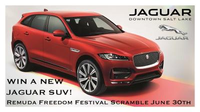 Win a New Jaguar SUV