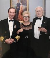 Queen Mary 2 Arthur, Brett & Captain Wells