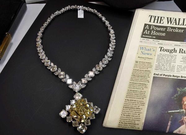 100 Carat Diamond Necklace