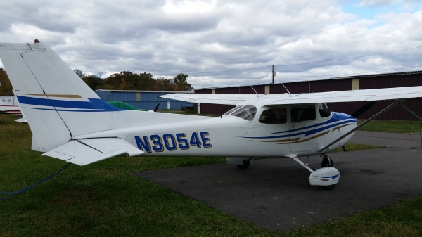 N3054E Princeton Flying Club New Jersey Princeton Airport 39N