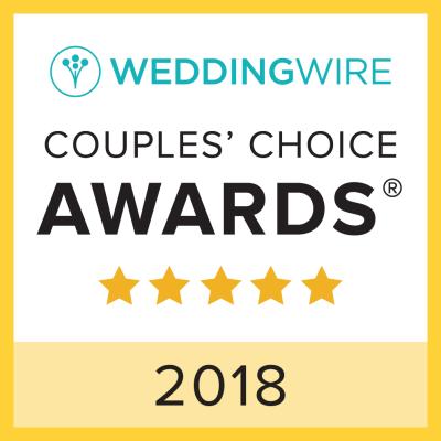 Wedding Wire Couples' Choice Award Winner