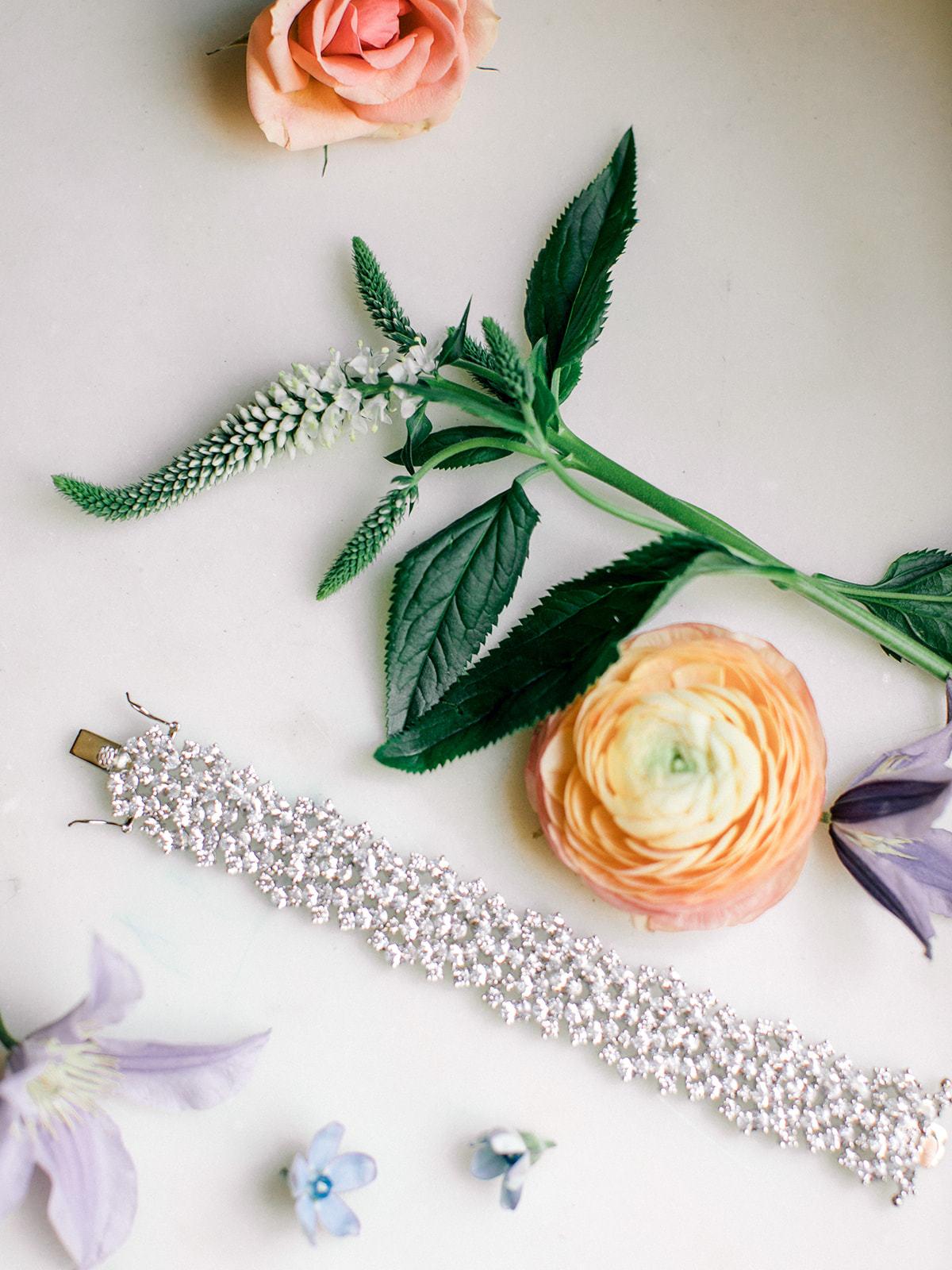 Blush and ivory Fort Worth Wedding