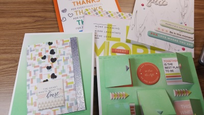 SSS August Card Kit Fun