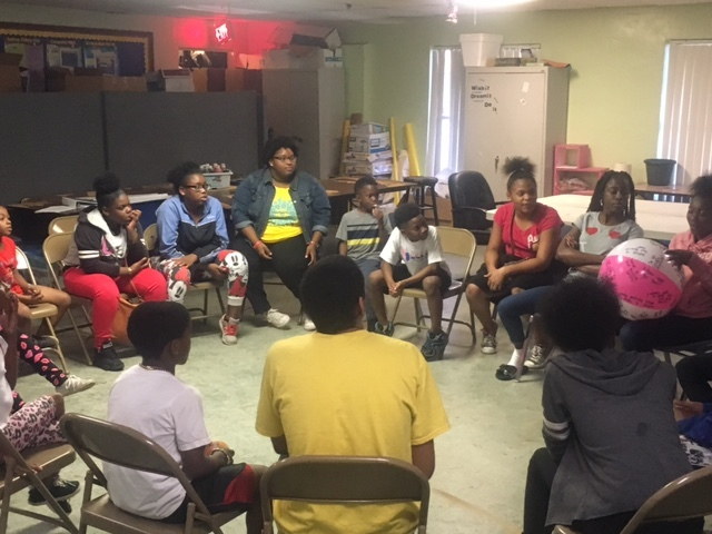 Youth Mentoring Session - Magnolia Terrace