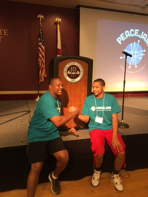PeaceJam-2107: Campus - Florida State University, Tallahassee, FL