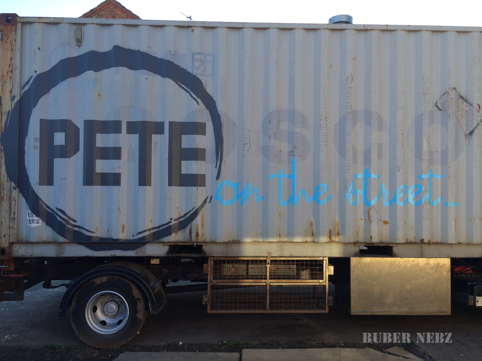 Pete On The Street Truck