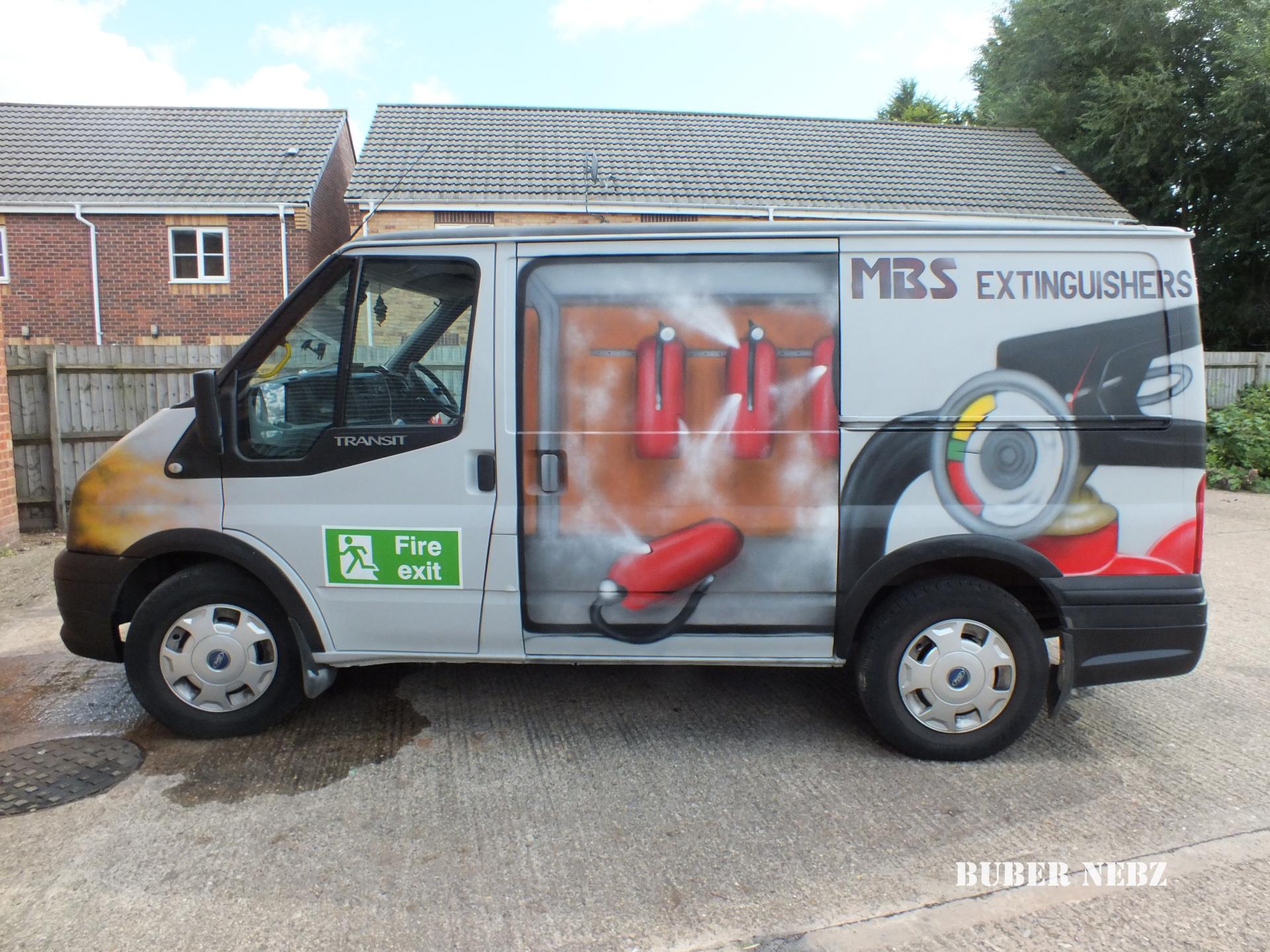 MBS Extinguisher Van