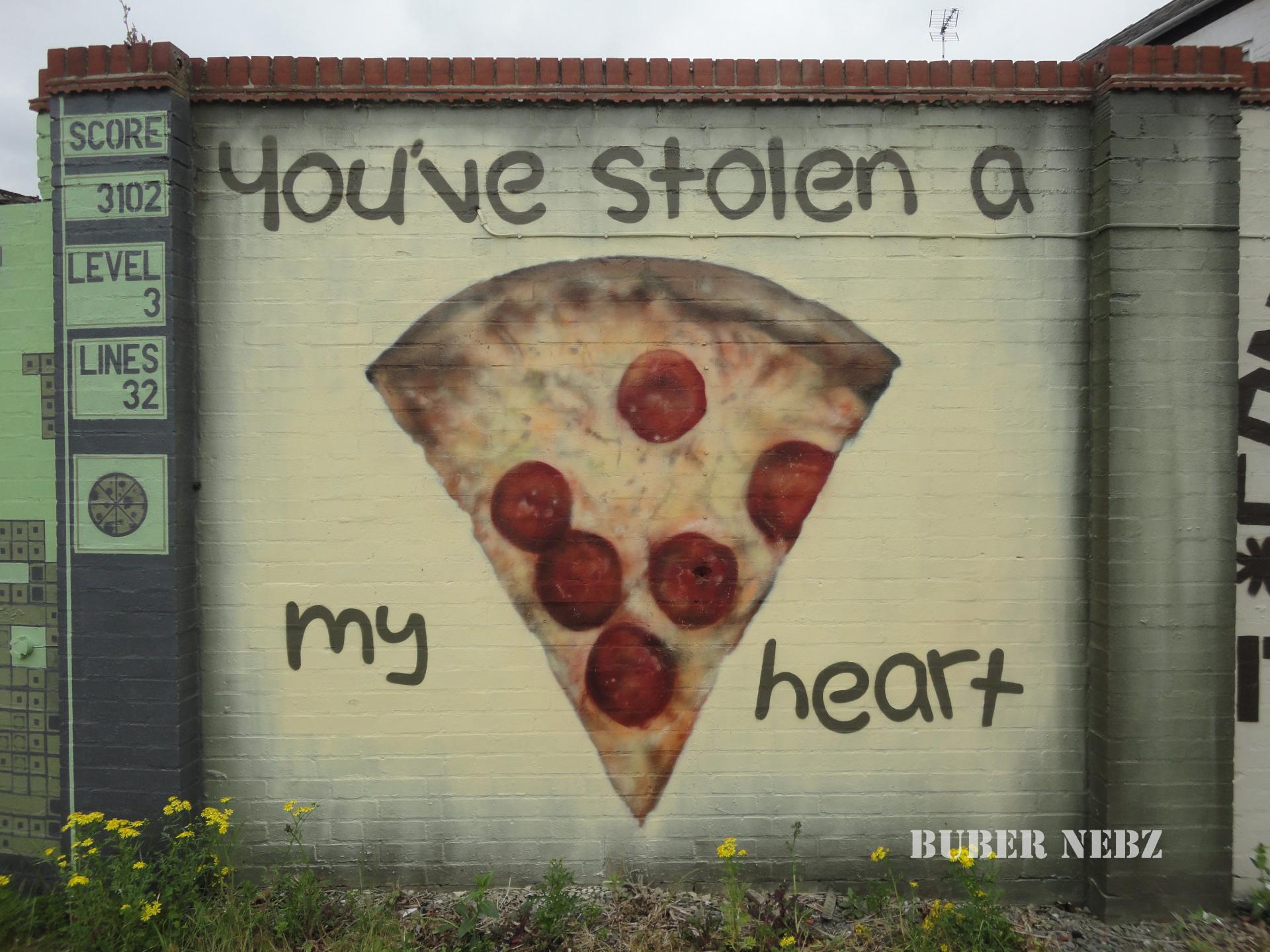 You've Stolen A Pizza My Heart
