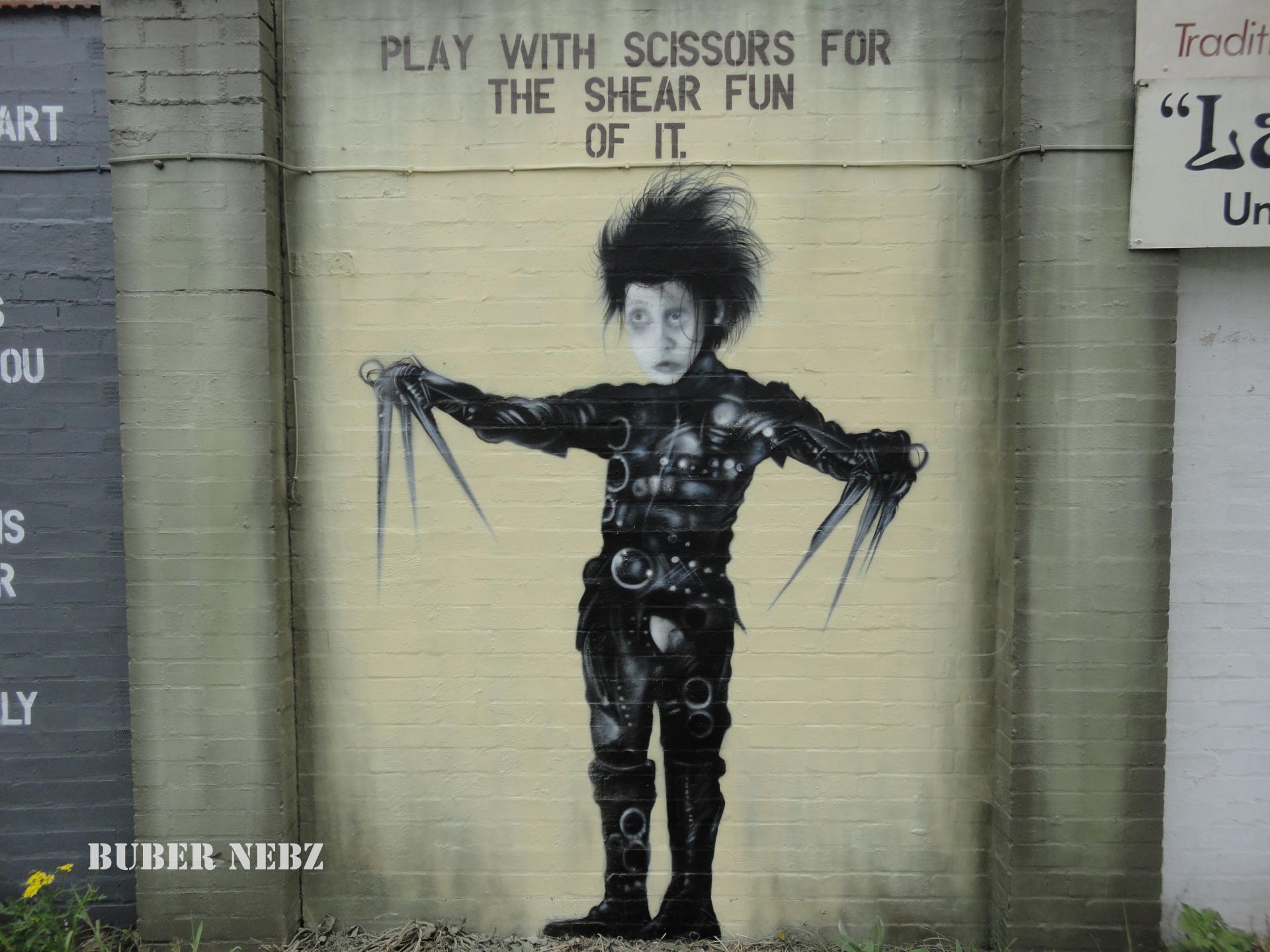Edward Scissors Hands