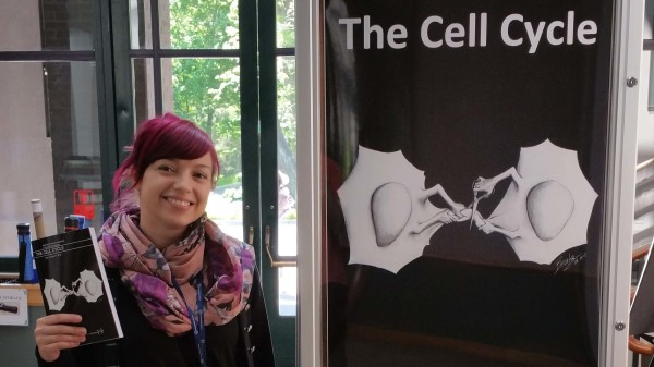 Cover and abstract book at the Cell Cycle Meeting in Cold Spring Harbor 2016