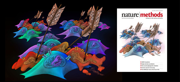 Nature Methods Cover - An Arrow Poison for CRISPR