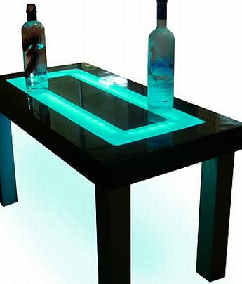Idea: LED-Furniture
