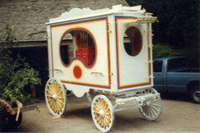 Calliope Circus wagon