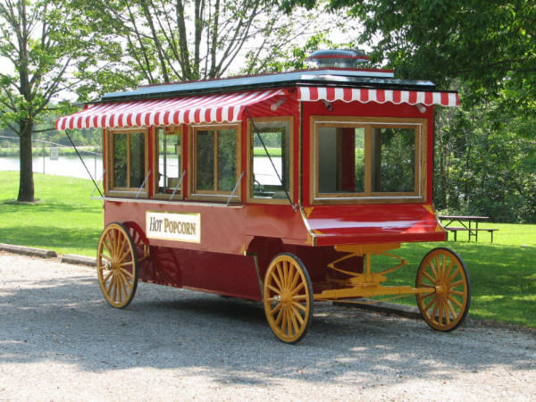 Antique style Popcorn Wagon