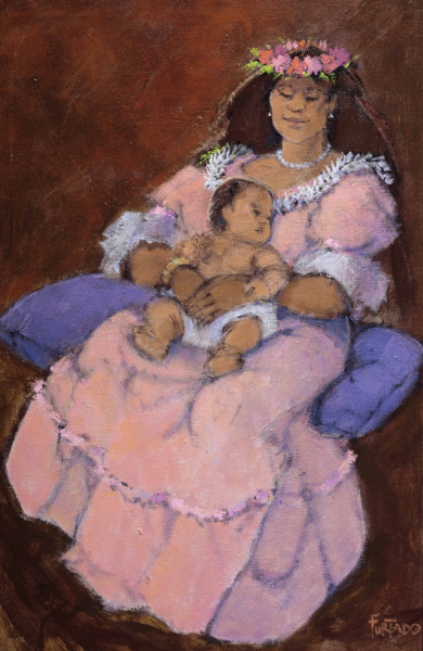 Mother and Child Al Furtado