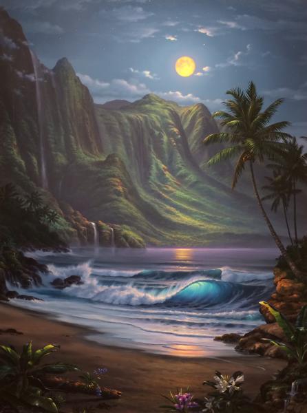 Moon Over Hawaii Lance Fairly