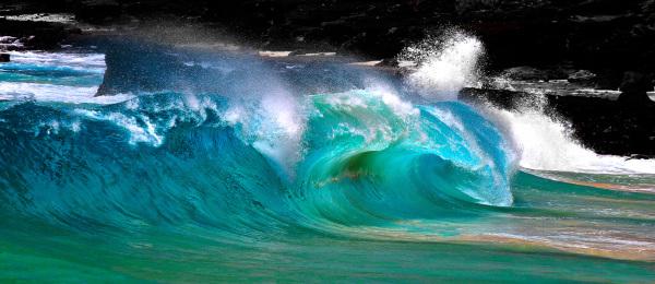 Blue Hawaii Claro Cabading