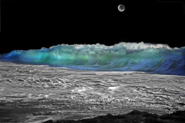 Lunar Seascape Claro Cabading