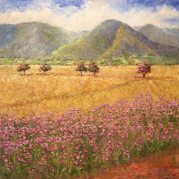 Lahaina Orchid Field and Sugarcane Susan Miyachi