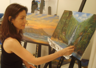 Susan Miyachi painting