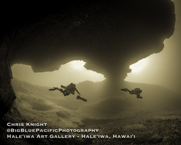 Sepia Gene Pool Cavern Chris Knight