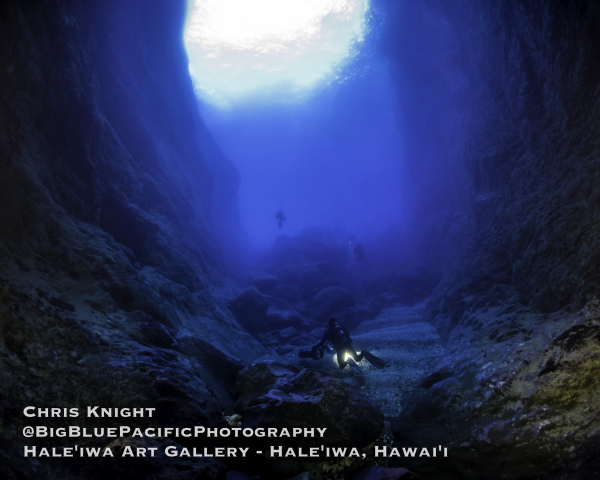 Moku Manu Cave Chris Knight