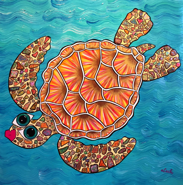 Sunrise Honu Jehan Valiente SOLD