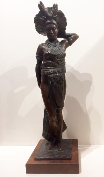 New Guinea Woman 2 A LaMoyne Garside