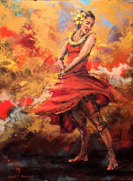 Scarlet Beauty Mark Howard SOLD