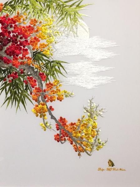 Cherry Blossom I Dao XQ Vietnam SOLD