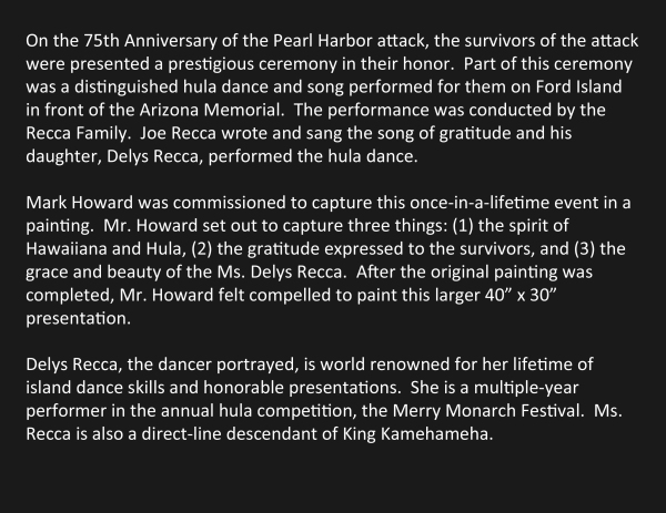 75th Anniversary Performance text